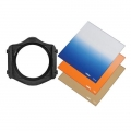 Cokin H210 Landscape Filter Kit-1 P Series (Filter Holder, Warm 81-EF #37, B2 Gradual Blues Soft #123S, Sunset 1 #197)